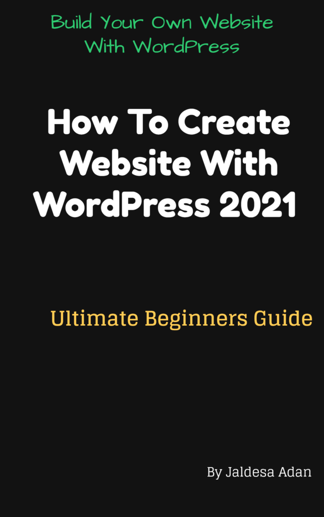 How To Create Website With WordPress in 2021