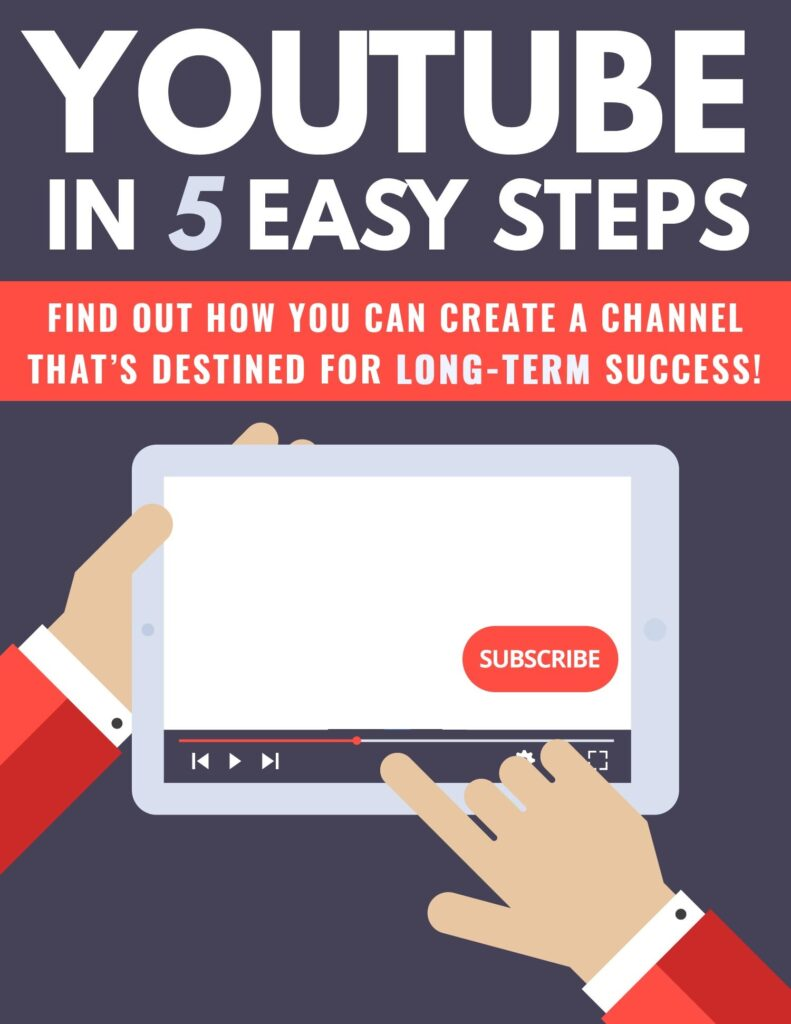 youtube quickstart guide – quickstart guide: YouTube In Five Easy Steps pdf